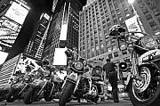 Cops Metal Prints - New Yorks Finest Metal Print by Robert Lacy