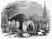 Newark: Cemetery, 1876 Print by Granger