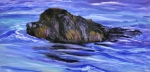 Newfoundland Art Paintings - Newfoundland Oil Painting by Mary Jo Zorad