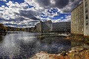 Old Mills Prints - Newmarket NH Print by Eric Gendron