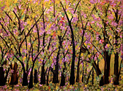 Tree Blossoms Paintings - Newness Of Life by Suzeee Creates