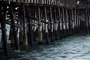 Ply Photos - Newport Beach Pier Close Up by Mariola Bitner