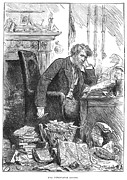 Editor Prints - Newspaper Editor, 1880 Print by Granger