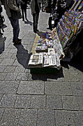Magazines Prints - Newspaper Stand - Vienna Print by Madeline Ellis