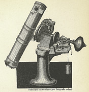 Telescopes Posters - Newtonian Telescope Poster by Science, Industry & Business Librarynew York Public Library