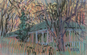 House Pastels - Next Door by Donald Maier