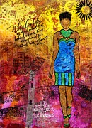 African American Paintings - Next Steps by Angela L Walker