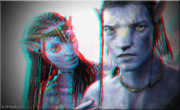 Stereoscopy Photos - Neytiri And Jake Sully - Use Red-Cyan 3D glasses by Brian Wallace