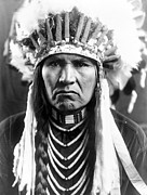 Headdress Photos - Nez Perce Native American by Granger