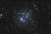 Open Clusters Prints - Ngc 457 Is An Open Star Cluster Print by Robert Gendler