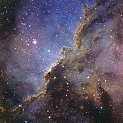 Molecular Clouds Prints - Ngc 6188, An Emission Nebula Print by Don Goldman