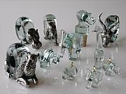 Elephant Glass Art - Ngwenya Glass Animals by Various