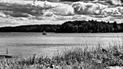 Seacoast Prints - NH Landscape Seacoast BW Print by Edward Myers