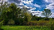 Nh Framed Prints - NH Spring Landscape Framed Print by Edward Myers