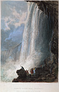1835 Photos - Niagara Falls, 1835 by Granger
