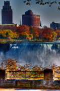 All - Niagara Falls From Ontario by Don Nieman