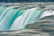 River Tapestries Textiles Originals - Niagara Falls Number 2 by Steve Gadomski