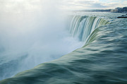 Famous Place Tapestries Textiles - Niagara Falls by Photography by Yu Shu