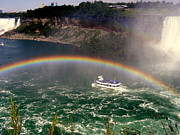 Maid Photos - Niagara Gorge Rainbow by Deborah MacQuarrie