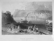 Brock Prints - Niagara River, 1839 Print by Granger