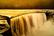Germany Mixed Media - Niagara Waterfall by Dan Haraga