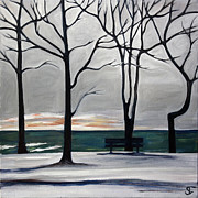 Sarah Lynch - Niagara Winter Morning 1
