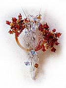Coral Jewelry - Niagra Fall by Rhonda Chase