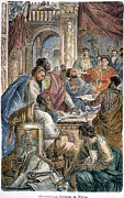 Byzantine Photos - Nicaea Council, 325 A.d by Granger