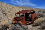 Rusted Cars Framed Prints - Nice Body Framed Print by Bob Christopher