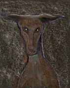 Postal Originals - Nice doggie by Peter  McPartlin