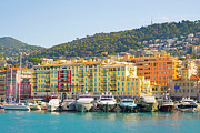 Nice Prints - Nice Harbour, Cote Dazur, France Print by John Harper