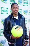 Athletic Sport Photos - Nick Cannon At A Public Appearance by Everett