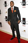 Nick Cannon Art - Nick Cannon At Arrivals For Tao Las by Everett