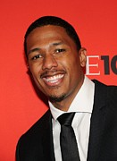 Nick Cannon Art - Nick Cannon At Arrivals For Time 100 by Everett