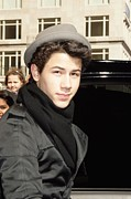 Out And About Posters - Nick Jonas Out And About For Jonas Poster by Everett
