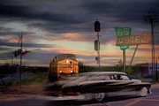 Route 66 Photos - Nick of Time by Mark Richards