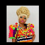 Human Being Photo Originals - Nicki Minaj by Eyonsa Asuquo
