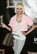 Short Jacket Prints - Nicki Minaj In Attendance Print by Everett