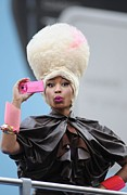 In Attendance Framed Prints - Nicki Minaj In Attendance For Casio Framed Print by Everett