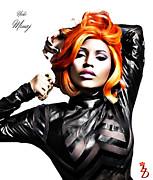 Nicki Minaj Print by The DigArtisT