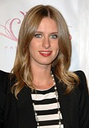 Nicky Hilton Framed Prints - Nicky Hilton At A Public Appearance Framed Print by Everett
