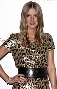 Leopard Print Prints - Nicky Hilton In Attendance For Launch Print by Everett