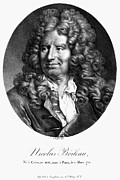 Critic Prints - NICOLAS BOILEAU (1636-1711). French critic and poet. Lithograph, French, 19th century Print by Granger