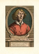 The Language Posters - Nicolaus Copernicus, Polish Astronomer Poster by Detlev Van Ravenswaay