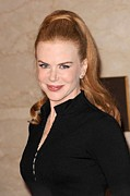 Donates Prints - Nicole Kidman At In-store Appearance Print by Everett