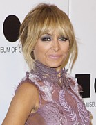 Updo Photo Posters - Nicole Richie At Arrivals For 2011 Moca Poster by Everett