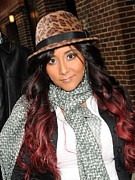 Celebrity Candids - Monday Posters - Nicole Snooki Polizzi Poster by Everett