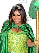Nicole Snooki Polizzi Hosts Nightmare Print by Everett