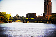 Laurianna Murray - Nicollet Island Bridge...