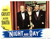 Cary Framed Prints - Night And Day, Monty Woolley, Jane Framed Print by Everett